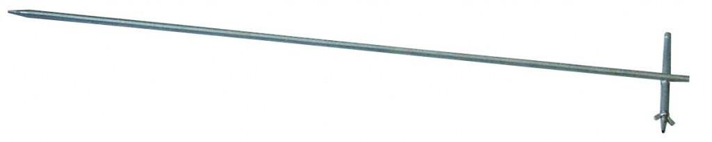 Штырь заземления из нержавеющей стали РЛПА.305177.004 - 1м.