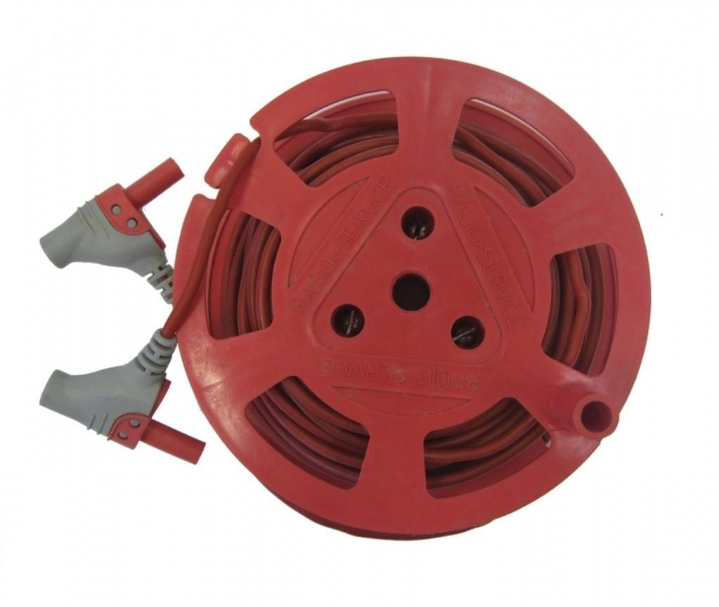Катушка с красным проводом 10м. РЛПА.685442.004