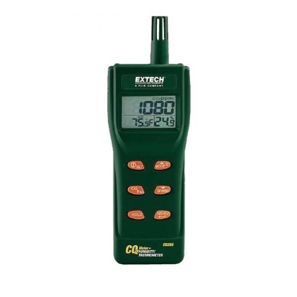 """Extech CO250 - Портативный прибор для измерения/регистрации данных качества воздуха и концентрации углекислого газа (CO2) """"Элект"""