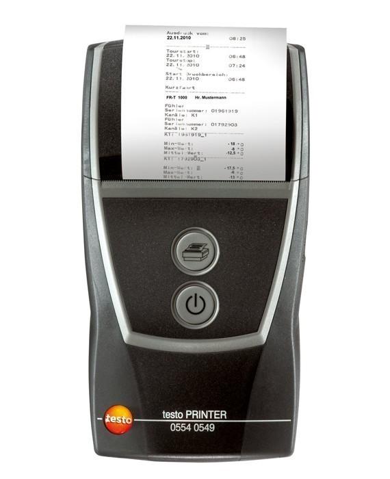 0554 0549 Быстродействующий принтер Testo