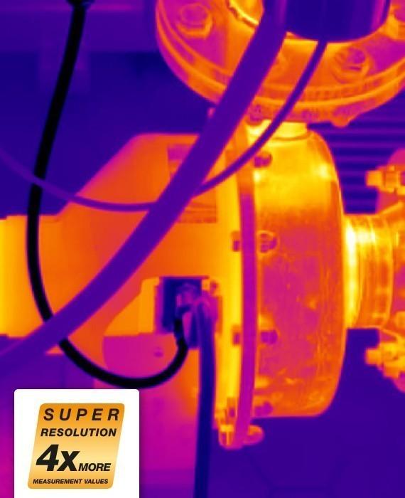 0554 7806 Технология testo SuperResolution - дооснащение для тепловизоров Testo