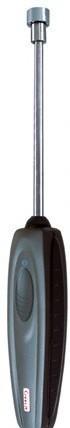 SKV 150 - Контактный зонд с липучкой с термопарой типа К для труб Ø 100 мм (максимум), с кабелем 1,5 м.