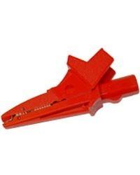 WAKRORE20K02 Зажим «Крокодил» изолированный красный K02