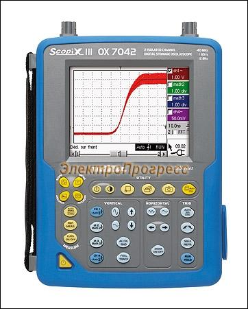 OX7042B-CSD осциллограф индустриальный портативный