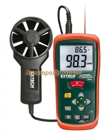 Extech AN200 - Термоанемометр CFM/CMM + ИК термометр