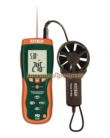 Extech HD300 Термоанемометр + ИК термометр