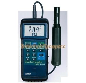 Extech 407510 - Прибор для измерения содержания растворенного кислорода для работы в тяжелых условиях