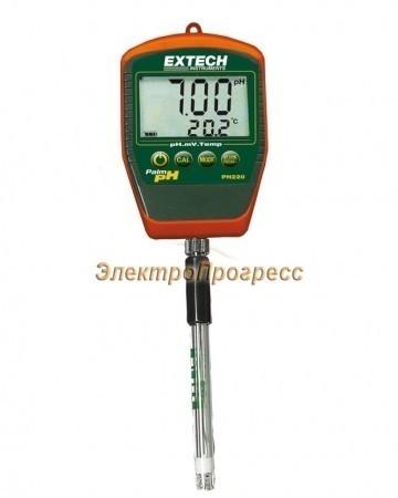 Extech PH220-S - Водонепроницаемый наладонный рН™ метр