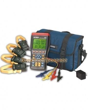 Extech 382091 - 3-х фазный анализатор мощности/регистратор на 1000А