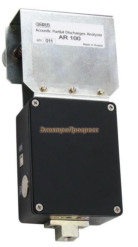 AR100 - прибор контроля акустических частичных разрядов в изоляции на токоведущих шинах