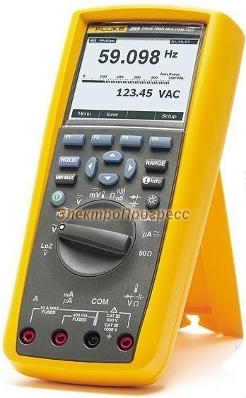 Fluke 289/FVF - мультиметр цифровой с комплектом дополнительных аксессуаров