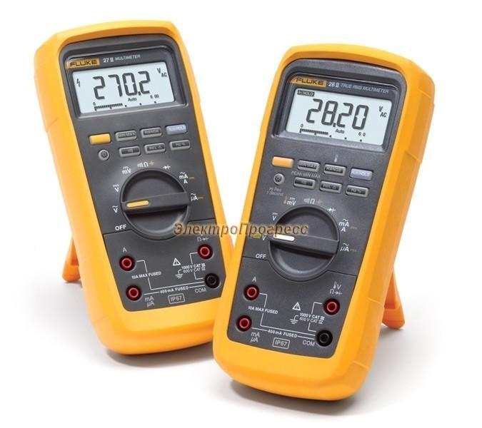 Fluke 28 II - водо- пыленепроницаемый цифровой мультиметр