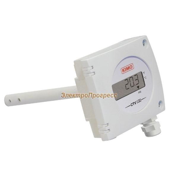 Датчики скорости потока воздуха и температуры с конфигурируемыми диапазонами измерения CTV 100