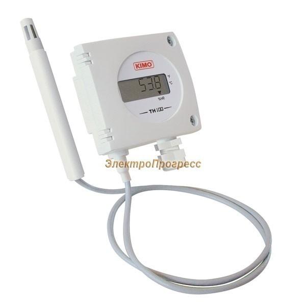 Датчики влажности с конфигурируемым диапазоном измерения TH 100