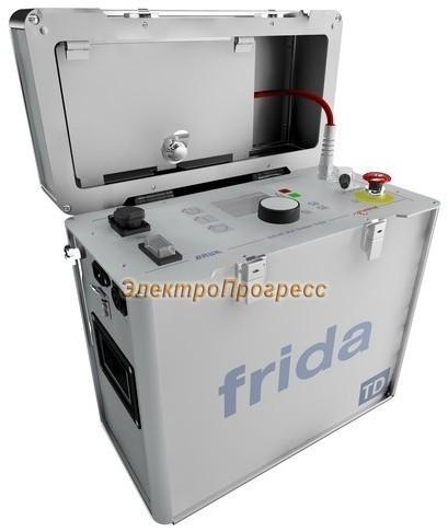 FRIDA-TD - портативное устройство для высоковольтных испытаний синусоидальным напряжением сверхнизкой частоты