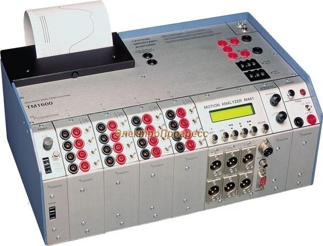 TM 1600 Тестер высоковольтных выключателей