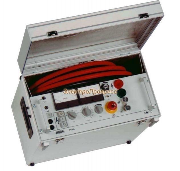 PGK 80 - прибор для высоковольтных испытаний