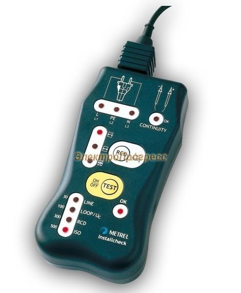 MI 2150 Installcheck - портативный прибор для тестирования электропроводки