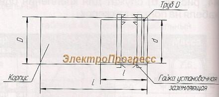 Патрубки вводные У476-У479