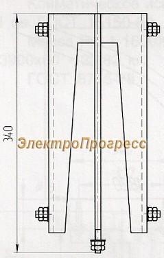 Основание закрепа К127У3, К127Т3