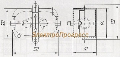 Коробки тросовые У230, У231,У245,У246