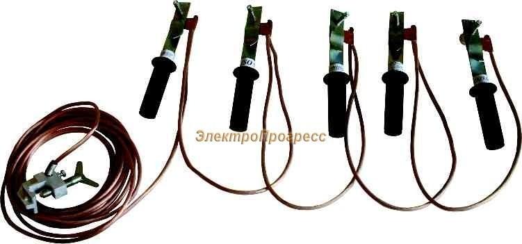 Заземление переносное ЗПЛ 1 (ЗПЛ-1М)