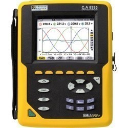 C.A 8335 QUALISTAR PLUS+C193 - анализатор параметров электросетей (с клещами C193)