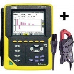 C.A 8332B + MN93A - анализатор параметров электрических сетей, качества и количества электроэнергии