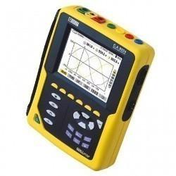C.A 8332B + PAC193 - анализатор параметров электрических сетей, качества и количества электроэнергии