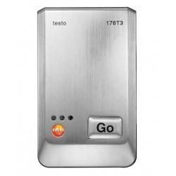 Testo 176 T3 4х-канальный логгер данных температуры в металлическом корпусе с разъемом для внешнего зонда