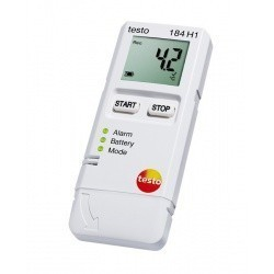 Тesto 184 H1 - логгер данных температуры и влажности
