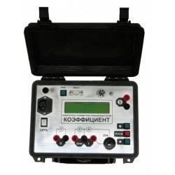 КОЭФФИЦИЕНТ - прибор для измерения параметров силовых трансформаторов