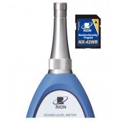 Rion NX-42WR дополнительная программа записи формы звукового сигнала