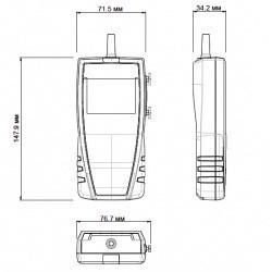 VT 110 - термоанемометры с обогреваемой струной