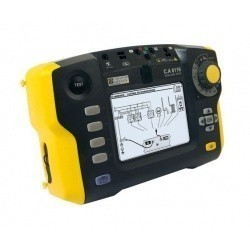 СА 6116 + клещи С177 - прибор для комплексной проверки электрических установок