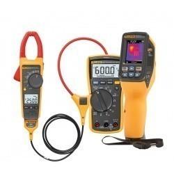 FLK-VT04-ELEC-KIT — комплект инфракрасного измерителя температуры (пирометра) с клещами Fluke 376 и мультиметром Fluke 117