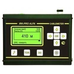 CableMeter E — рефлектометр + мост для измерения длины и входного контроля силового кабеля