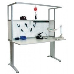 АРМ-4355-ESD — стол слесаря-сборщика радиоаппаратуры с антистатической столешницей