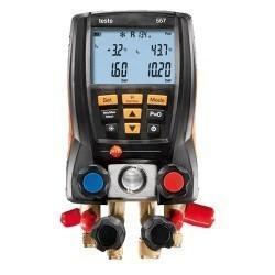 Комплект testo 557 (0563 5572) - анализатор работы холодильных систем с интегрированным измерением вакуума