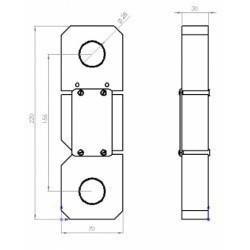 Тензомерический гололедный датчик ДГВН-20