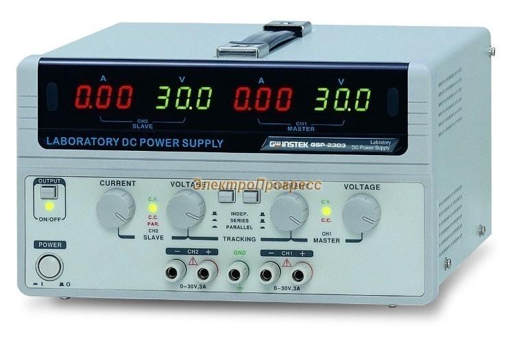 GPS-72303 - источник питания постоянного тока линейный серии GPS