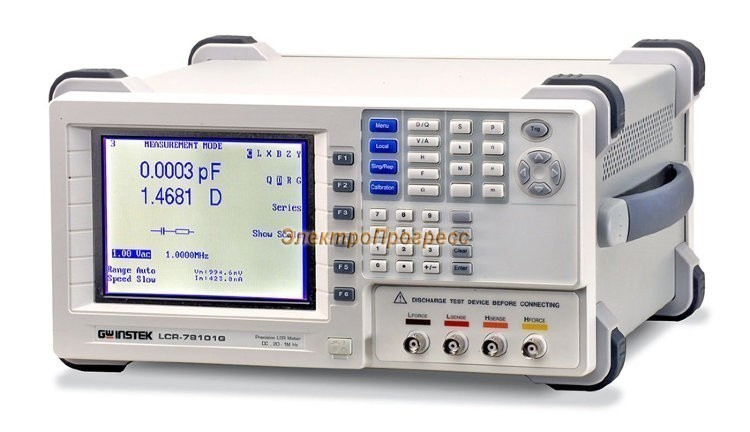 LCR-78110G - измеритель параметров RLC цифровой