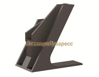 Кабельный держатель для крепления в треугольник