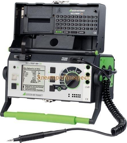 SECUTEST SIII+ тестер параметров безопасности электрооборудования