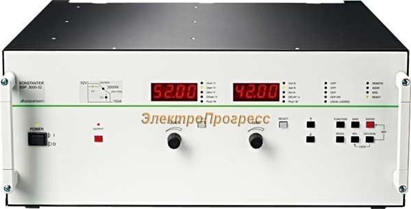 SSP-KONSTANTER 3000 - лабораторные источники питания постоянного тока