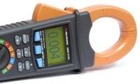 Измерение сопротивления, тестирование диодов или проверка целостности электрической цепи («прозвонка») токовыми клещами АСМ-2159.