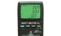 Измеряем активную мощность переменного тока ваттметром АСМ-8003