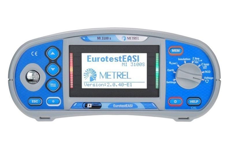 MI 3100 S EurotestEASI - многофункциональный измеритель параметров электроустановок Metrel