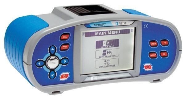 MI 3101 EurotestAT - многофункциональный измеритель параметров электроустановок Metrel