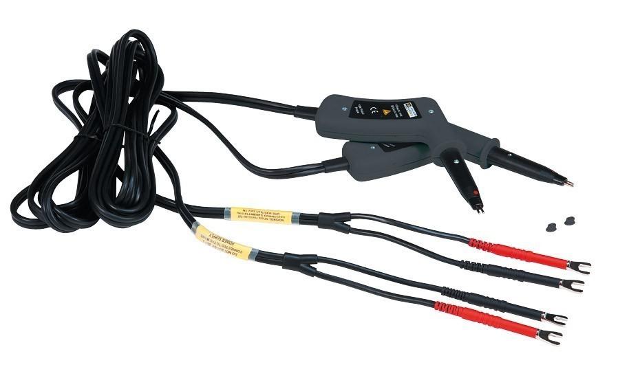 Дополнительные провода для микроомметров серии CA62xx, CA10 с подпружиненными щупами-иголками пистолетного типа (код заказа P01103065 )